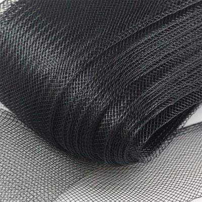 Horsehair ribbon 25 mm widht - Black (Fekete)
