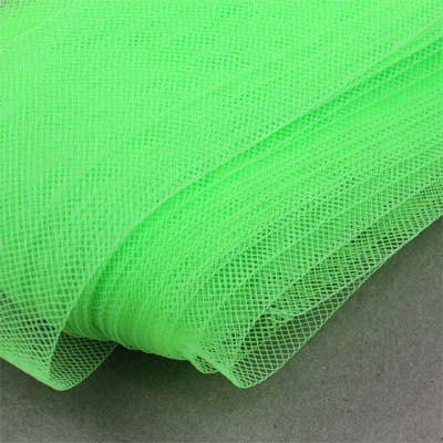 Horsehair ribbon 25 mm widht - NEON GREEN