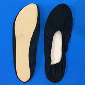 Gymnastic slippers - Black (Fekete)