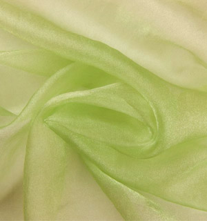 Organza - APPLE GREEN