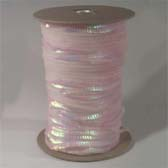 1 row 6 mm elastic iridescent cup sequin - BABY PINK