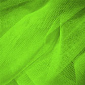 Fluorescent medium hardness for decorative tulle - FLUORESCENT GREEN