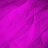 Fluorescent medium hardness for decorative tulle - FLUORESCENT PINK