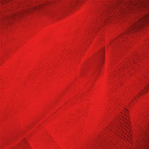 Fluorescent medium hardness for decorative tulle - FLUORESCENT RED