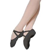 Grishko 03006 Ballet training shoes in 34-45 (EU) size - BLACK (fekete)