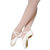 Grishko 03006 Ballet training shoes in 31-33 (EU) size - WHITE (fehér)