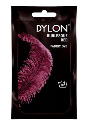 Dylon Cold water clothing dye - BURLESQUE RED (DYLON)