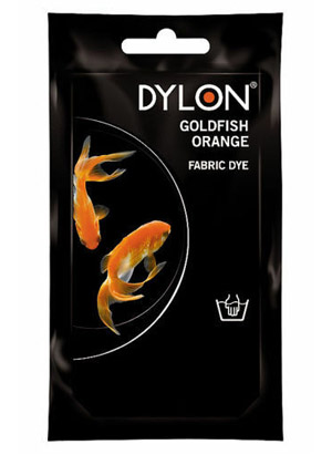 Dylon hidegízes ruhafesték - GOLDFISH ORANGE (DYLON) Sz: 8