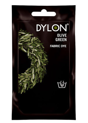 Dylon Cold water clothing dye - OLIVE GREEN (DYLON)