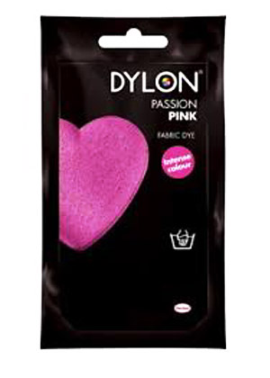 Dylon Cold water clothing dye - PASSION PINK (DYLON)