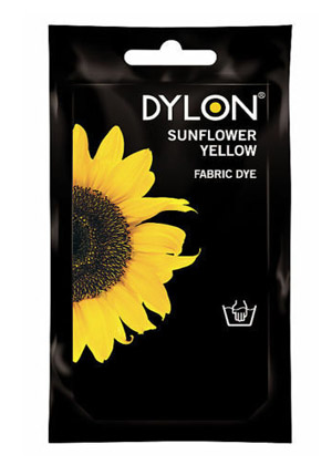 Dylon hidegízes ruhafesték - SUNFLOWER YELLOW (DYLON) Sz: 19