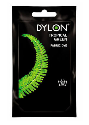 Dylon hidegízes ruhafesték - TROPICAL GREEN (DYLON) Sz: 20