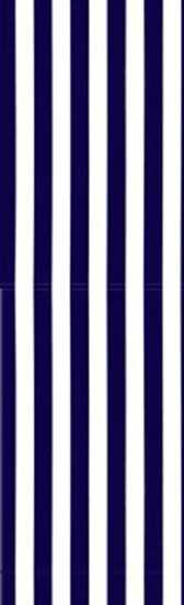 Stripped material - DARK BLUE/WHITE 90