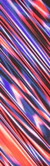 Stripped material - RED/BLUE