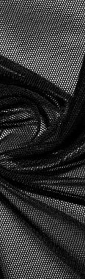 Power mesh - BLACK (fekete)