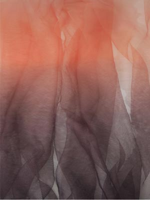 Ombre soft tulle - VIOLET / CORAL