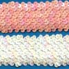 Elastic sequin trims