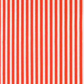 Red white striped thin material