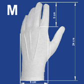 Men´s gloves M size