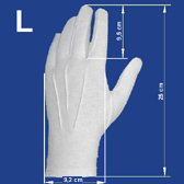 Men´s gloves L size