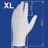 Men´s gloves XL size