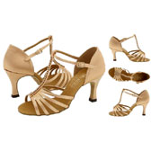 Freed of London Tina latin dance shoes 2.5´´